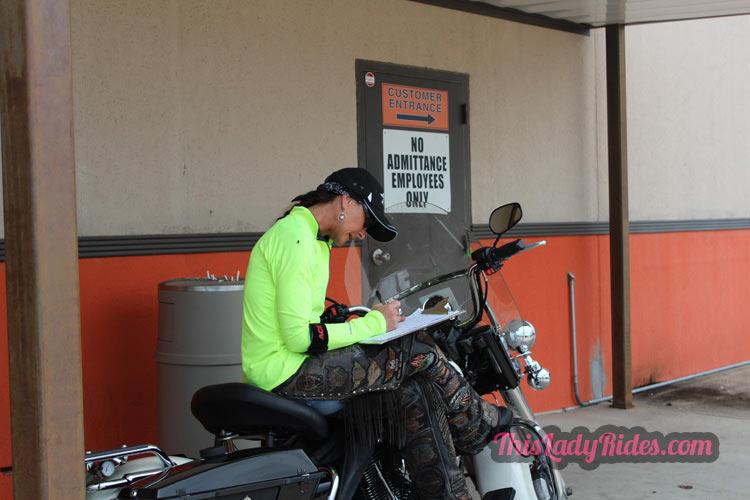 Kim Briggs, Fort Worth Harley, Fort Worth HOG