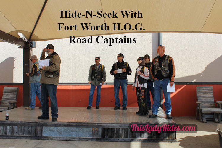 Fort Worth HOG playing hide and seek