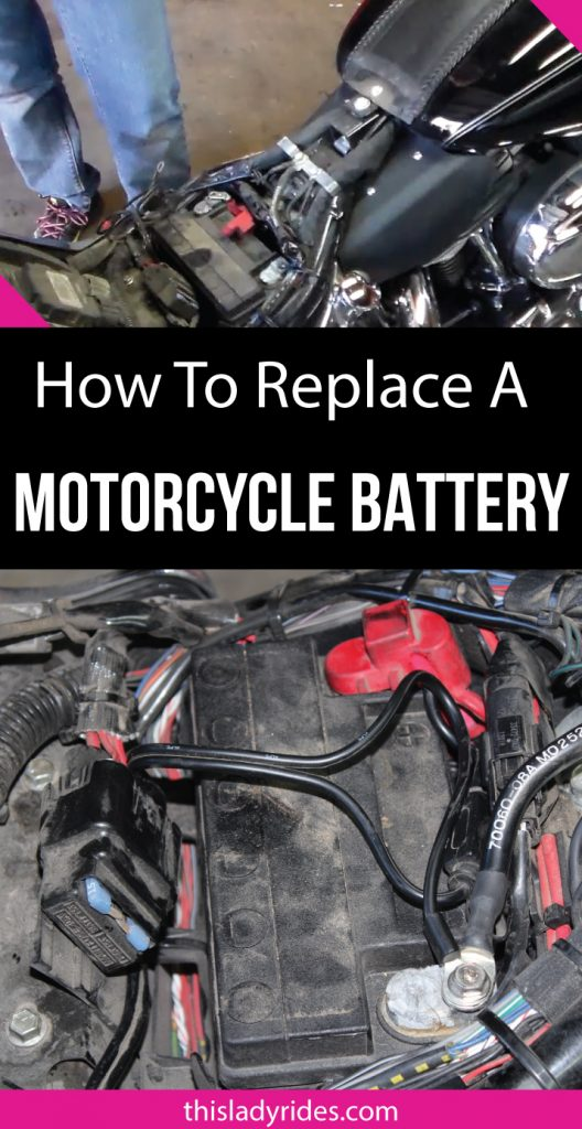 How to Remove and Replace a Motorcycle Battery. Replacing a motorcycle battery is an easy job in most cases, but there are a few potential pitfalls. I will show you how to safely remove and replace the battery on a motorcycle.