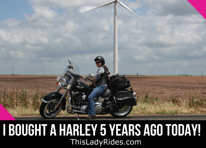 I bought A Harley 5 Years Ago Today!