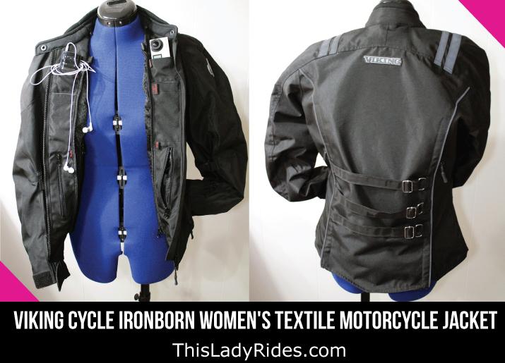Viking Cycle Ironborn Women's Textile Motorcycle Jacket